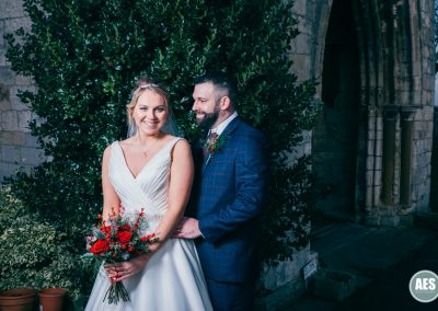Wedding at St Mary and Martins Church in Blyth