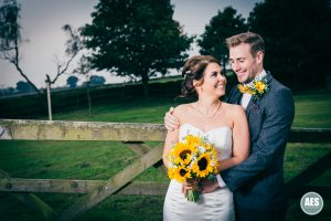 Claire and Ricky's country wedding at the Fox and Goose Inn