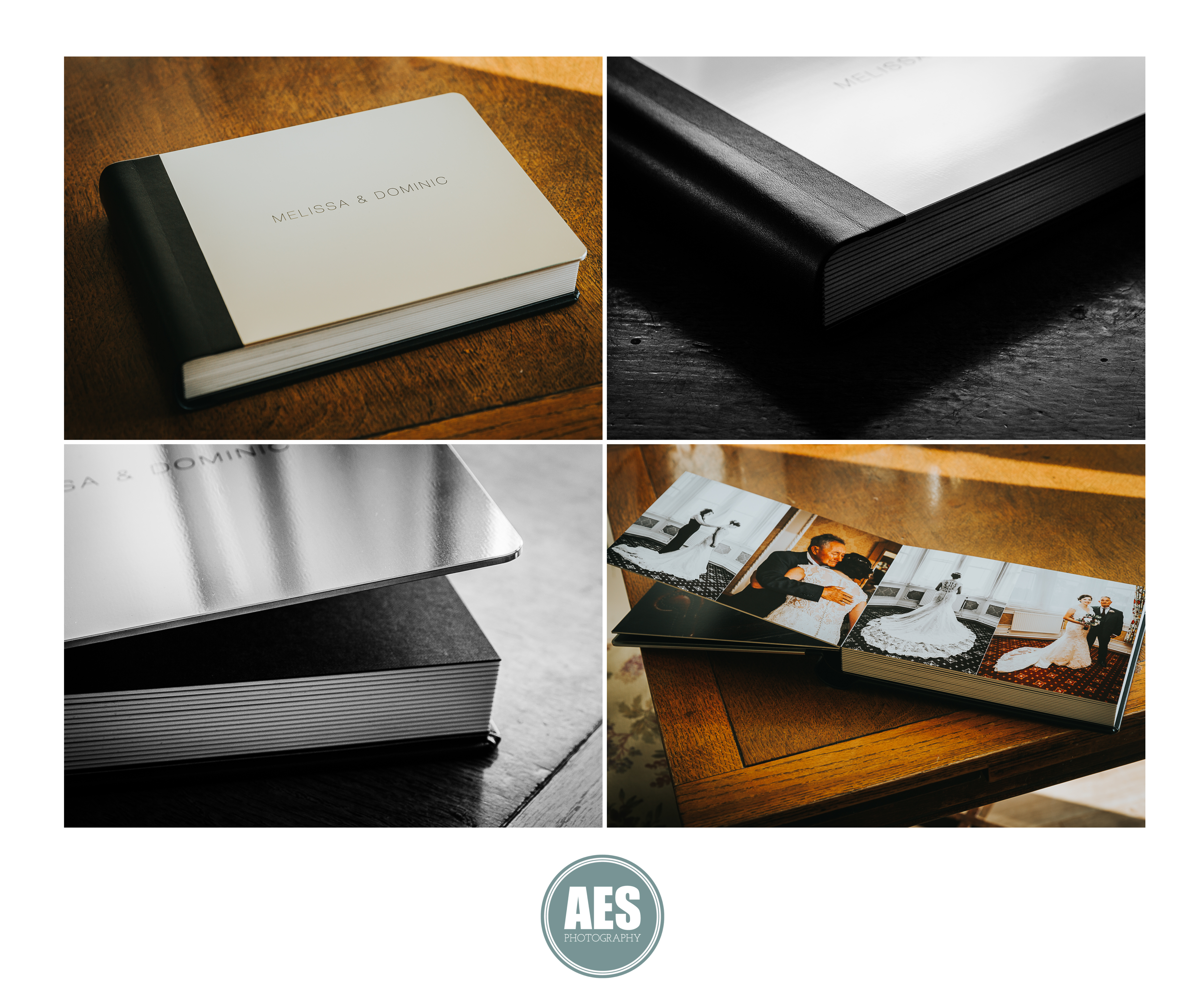 Graphikstudio Wedding album book with steel cover