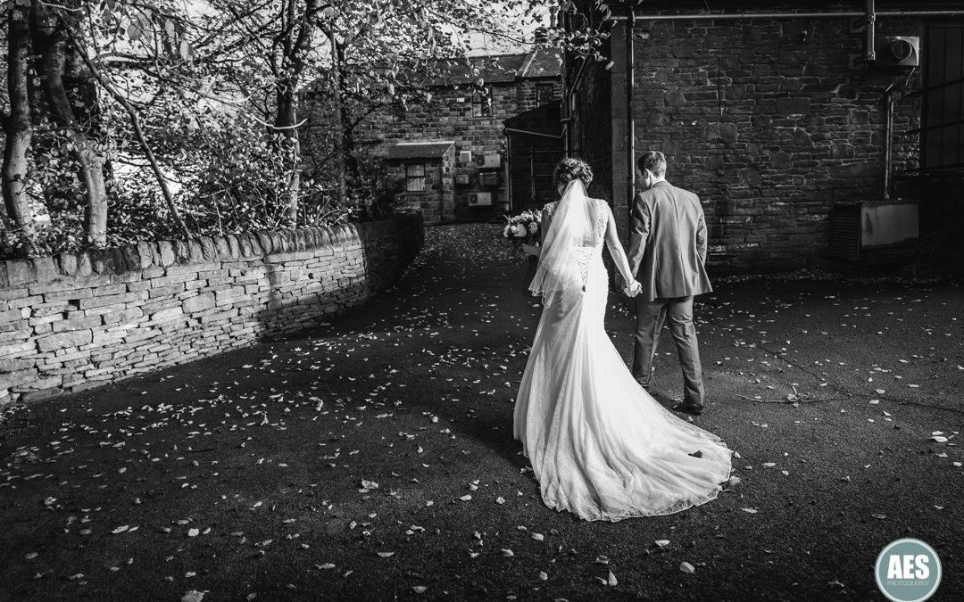 CUBLEY HALL WINTER WEDDING | JENNY & ANDY