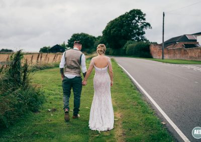 Rachael and Mat countryside barn wedding at Donington Park Farm House