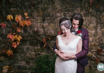 Autumn wedding at Wood Lane Countryside Centre