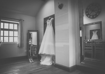 Dress at The Ashes Country House wedding venue