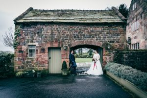 Archway at The Ashes Country House wedding venue