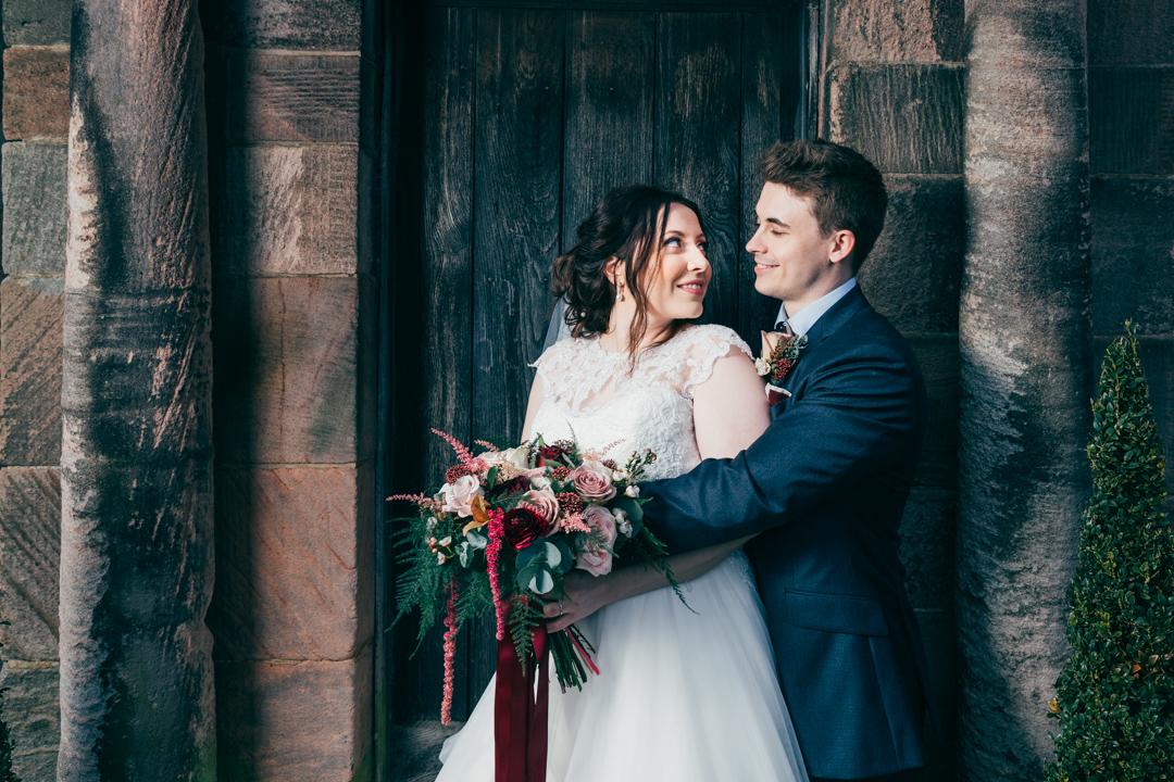 Lauren & Matt wedding at the Ashes Country Barn