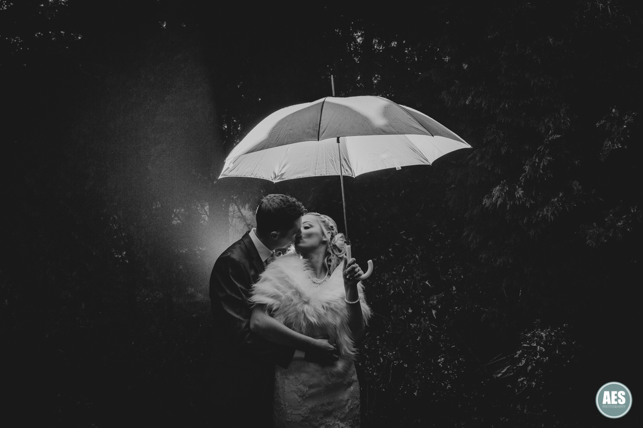 Yorkshire Wedding Photographer Umbrella