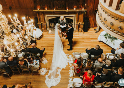Ceremony at Thornbridge Hall