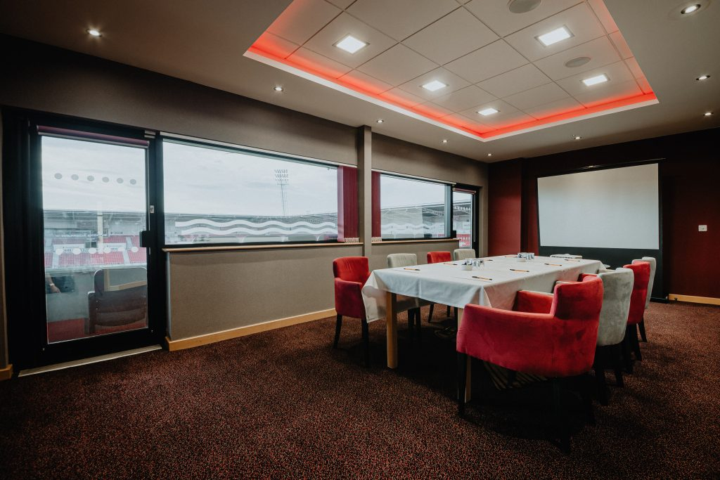 Keepmoat Stadium Interior Photography of Directors Lounge